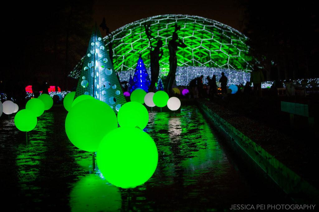 Climatron At Garden Glow In Missouri Botanical Garden St Flickr