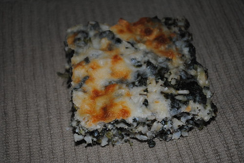Cheesy Baked Spinach Rice (14)