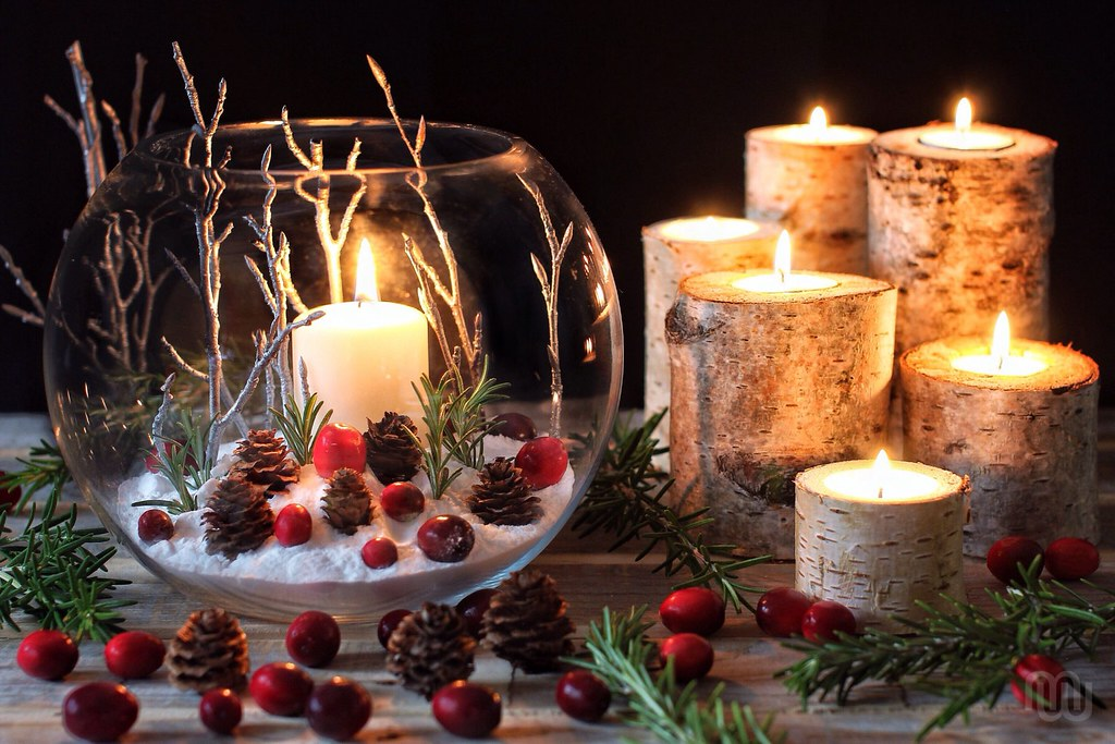 Candle Art Hd Wallpaper: Lights For The Winter Solstice