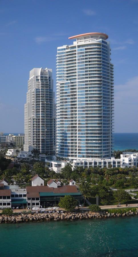 South Pointe Beach Miami Florida