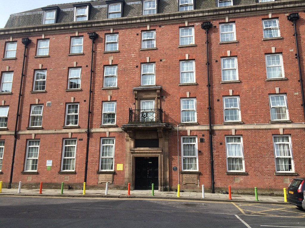 Former Liverpool Maternity Hospital Oxford St Liverpool