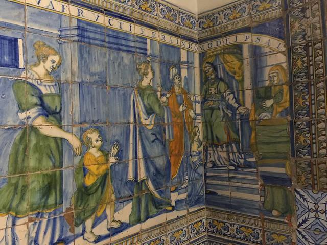 Azulejos de la Basílica del Prado en Talavera