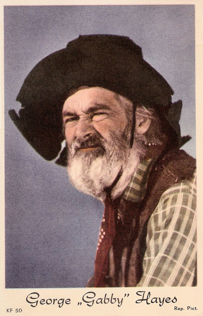 George 39 gabby 39 hayes dutch postcard no kf 50 photo for Gabby hayes