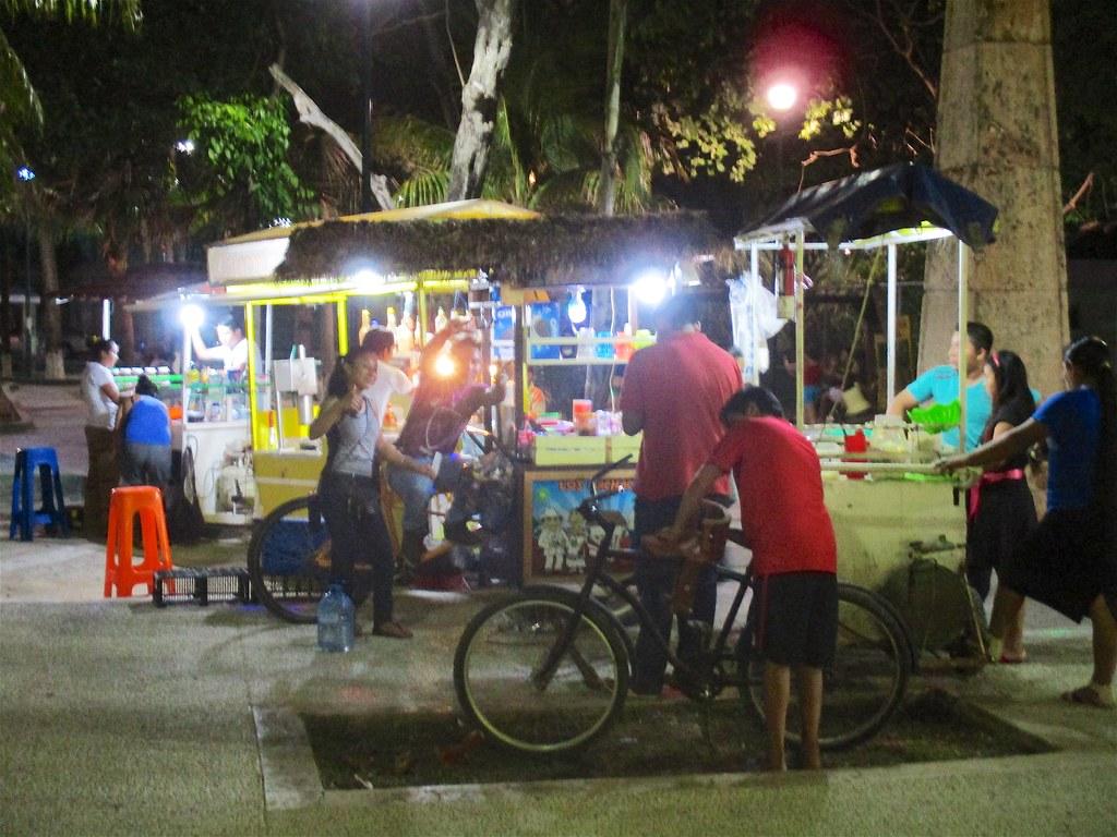 Tulum by night