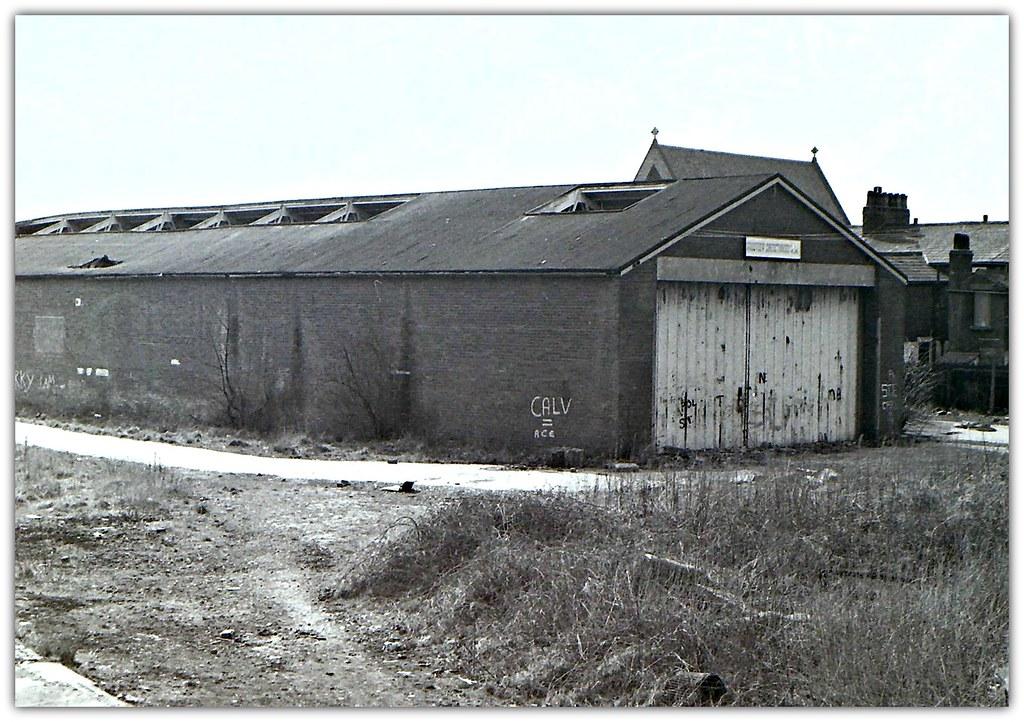 Former West Lancashire Railway Goods Warehouse Located