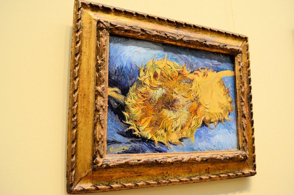 Vincent Van Gogh Doctor Who Vincent Van Gogh 39 s Sunflowers