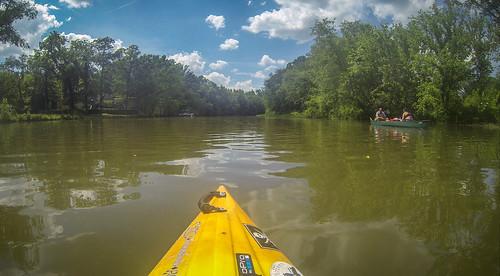 Kayaking and SUP on Saluda Lake-78