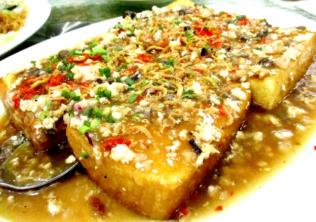Sarawak Club tofu dish