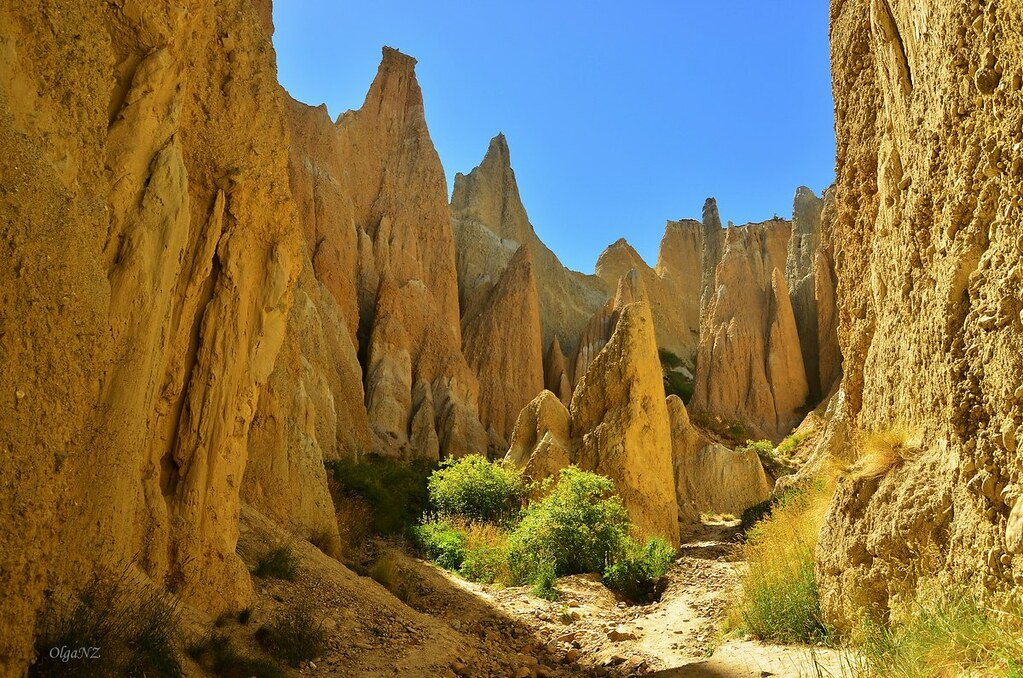 Clay Cliffs Omarama South Canterbury New Zealand Flickr