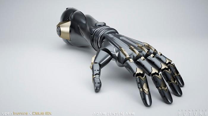 Protese baseada em Deu Ex será lançada em janeiro de 2017 pela Open Bionics