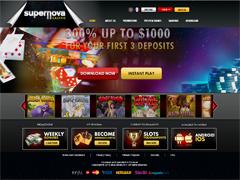 Supernova Casino Lobby