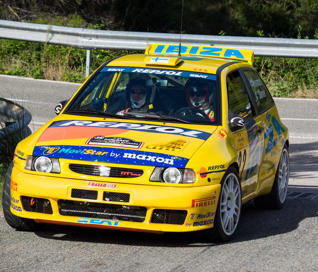 22 López Isidre Cofán Pablo E E Seat Ibiza Kit Car Evo2 19