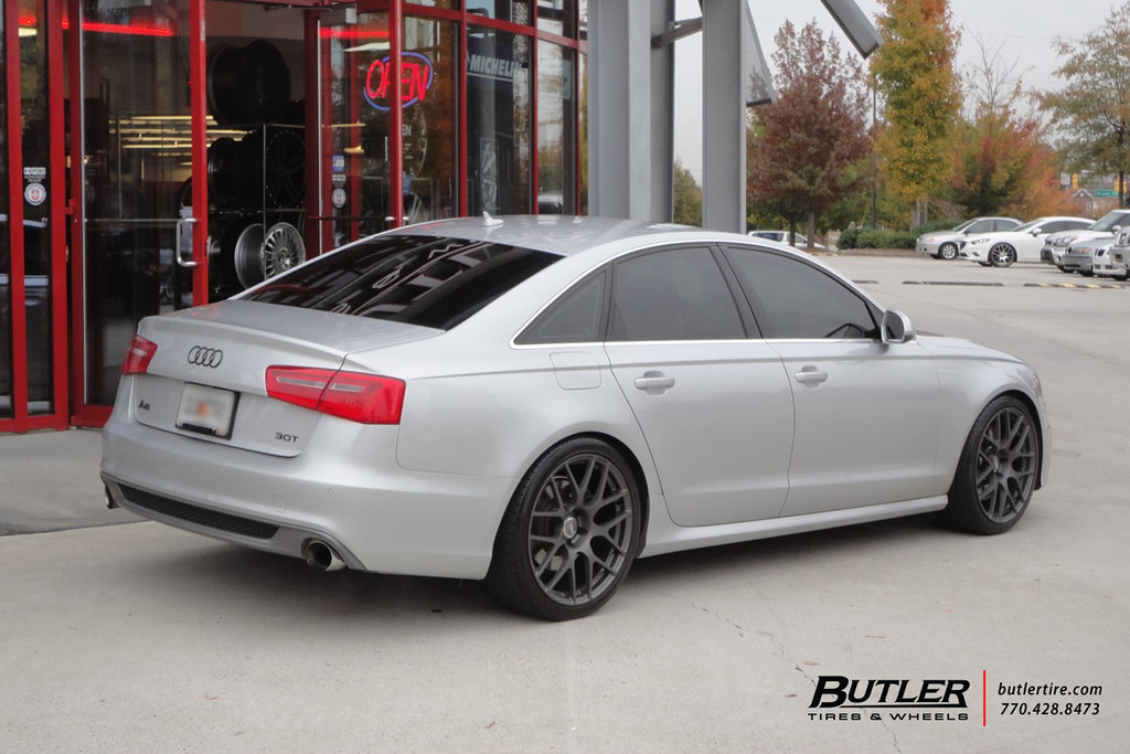 Audi A6 With 20in Tsw Nurburgring Wheel Additional