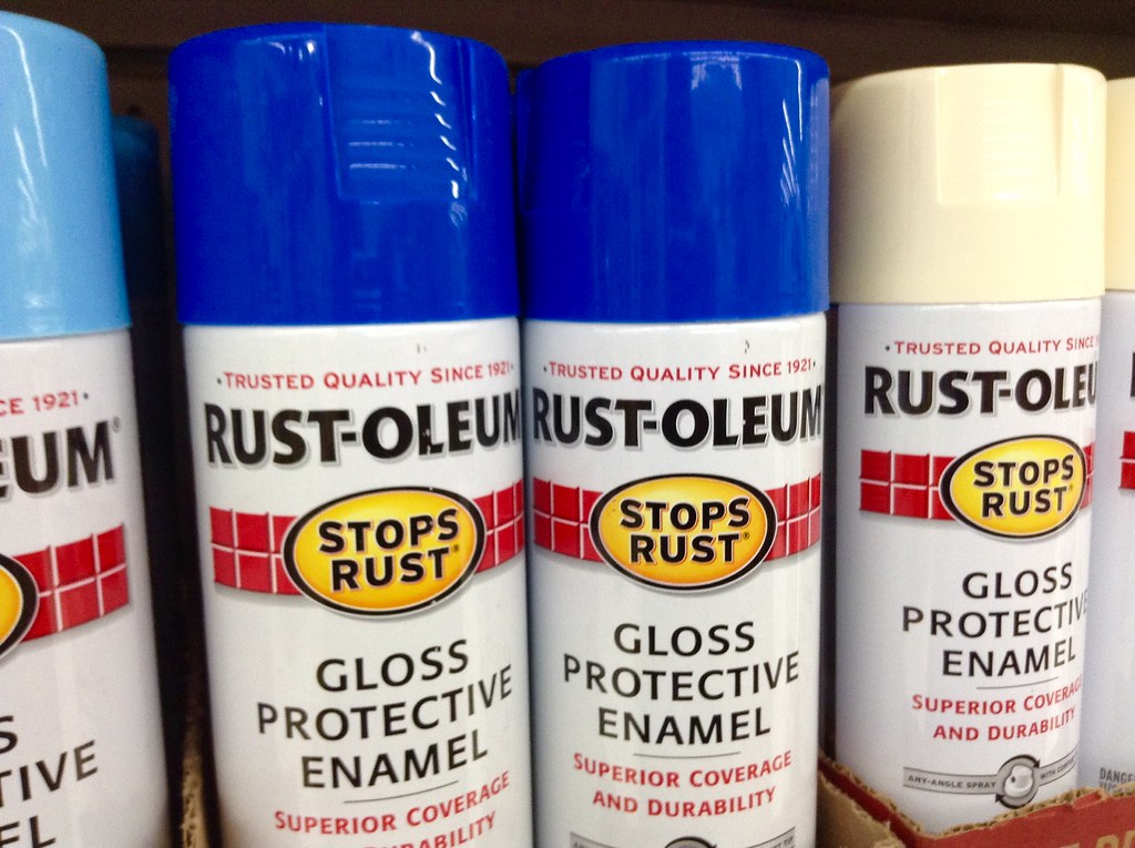 Rustoleum Spray Paint For Pvc