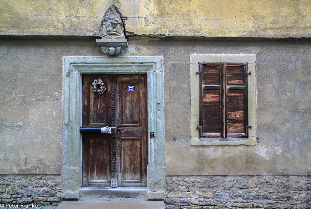 Old entrance in a house in Dettelbach - Franken - Germany | Flickr ...