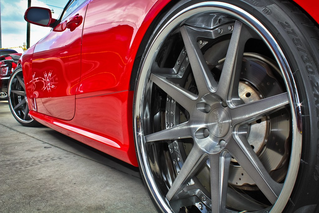 2013 Audi Rs5 Nessen Forged S 8 0 20x11 Pirelli Pzero 275