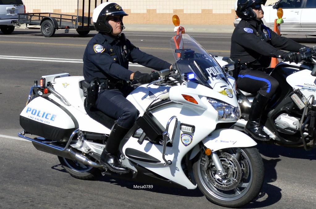 lake havasu city arizona police, honda st 1300 motorcycle | flickr