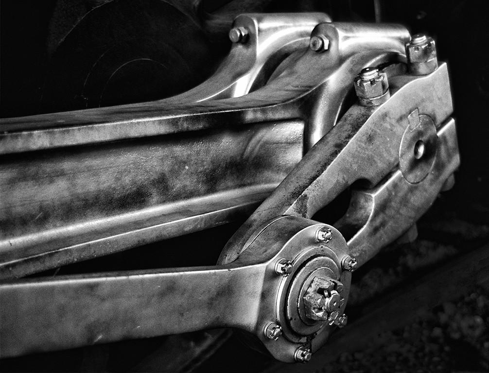 Tom Kline The Side Rod Drive Rod And Eccentric Crank Of