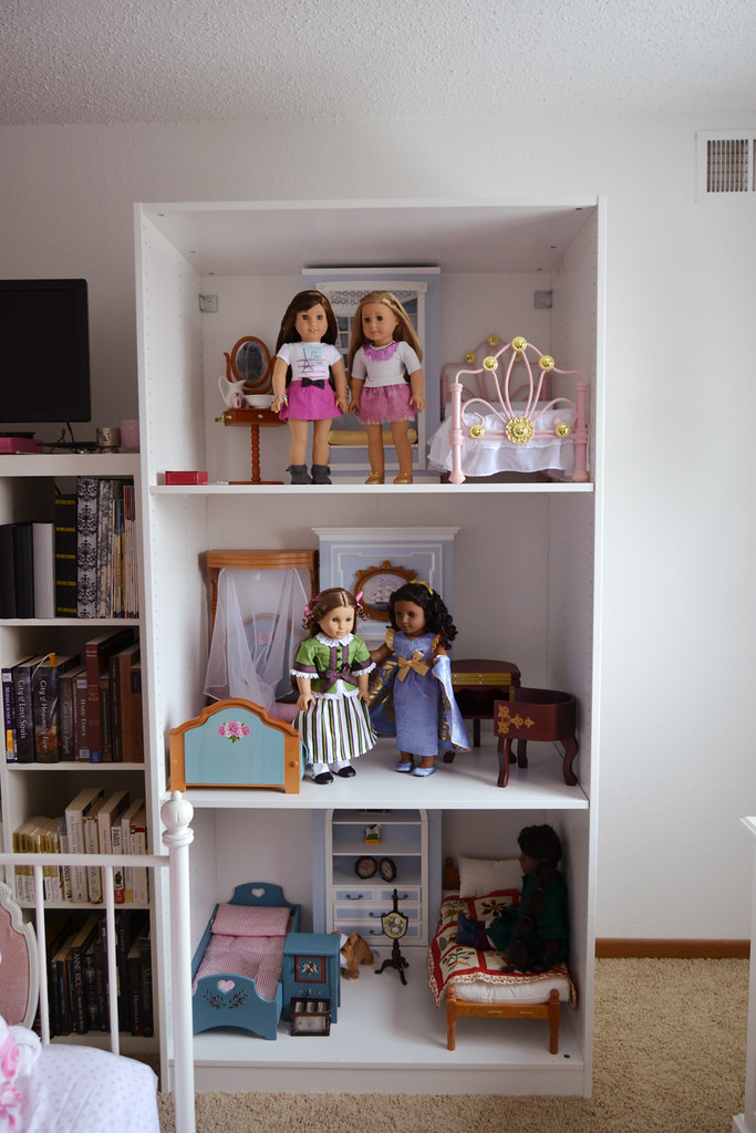 Ikea Pax Dollhouse For American Girl Dolls Part One Of