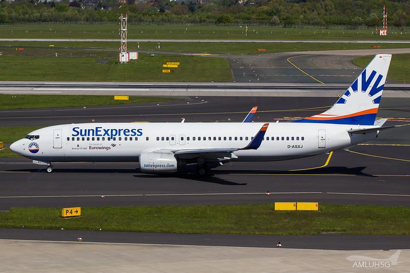 Sun Express - B738 - D-ASXJ (1)
