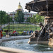 Brewer Fountain and Massachusetts State House