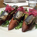 Monterey Bay sardine crostini