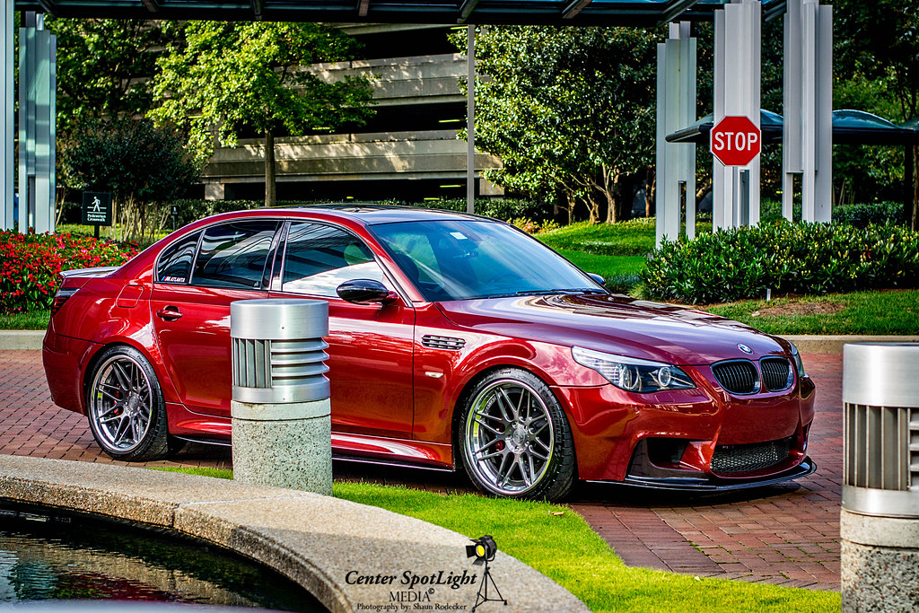 2006 indianapolis red bmw m5 e60 shaun rodecker flickr. Black Bedroom Furniture Sets. Home Design Ideas