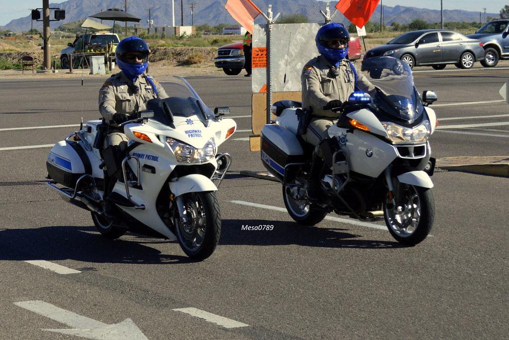 Arizona Dps Highway Patrol Honda And Bmw Motors Ofc