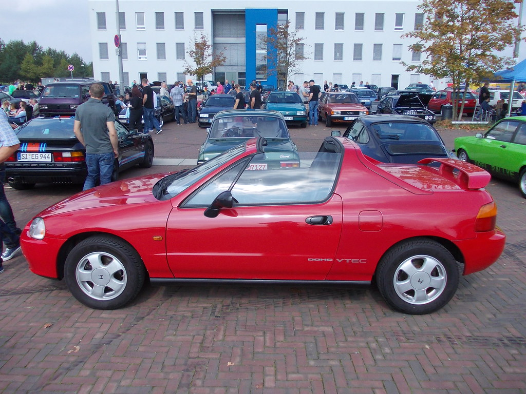 honda crx del sol vti 1992 youngtimer show zeche ewald. Black Bedroom Furniture Sets. Home Design Ideas