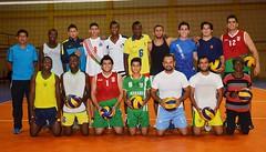 Lista inauguración de  liga nacional de voleibol
