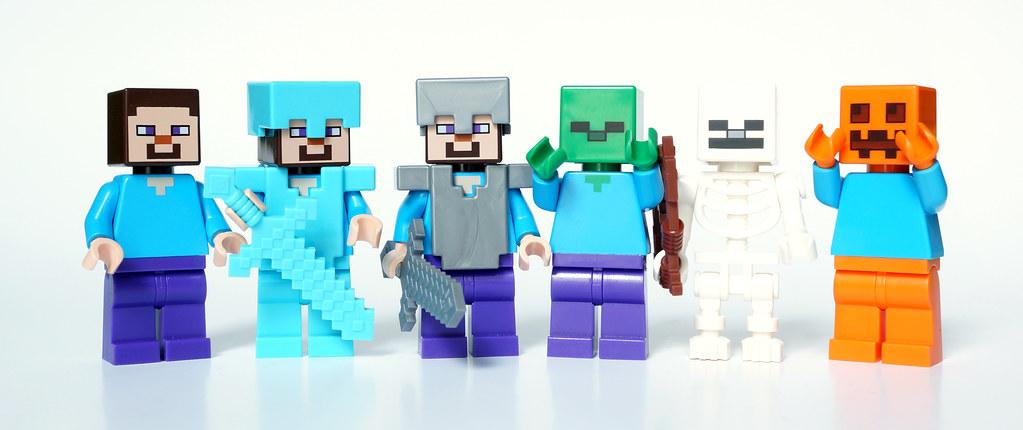 Minecraft Steve & Co JeRoMe Flickr