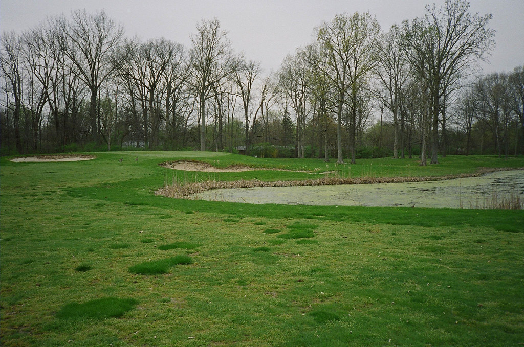 On the abandoned golf course | Yashica T2 Kodak Gold 400 ...
