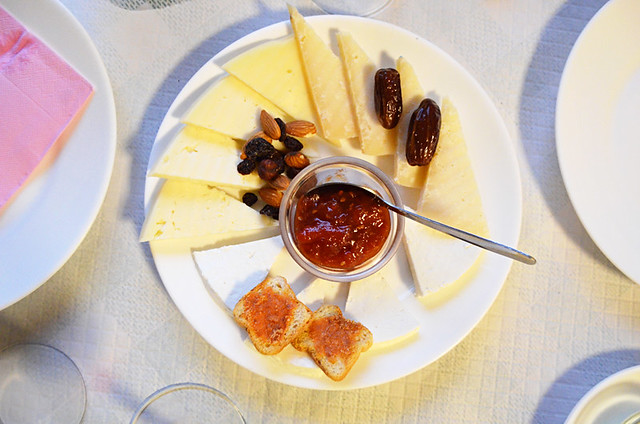 Cheese and jam, Fontanales, Gran Canaria
