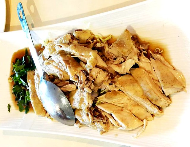 Flavours steamed kampung chicken