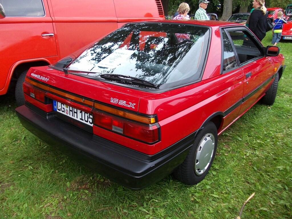 Nissan Sunny B12 Coupé 1.6 SLX 1988 | Bleckede 2014 | Hog ...