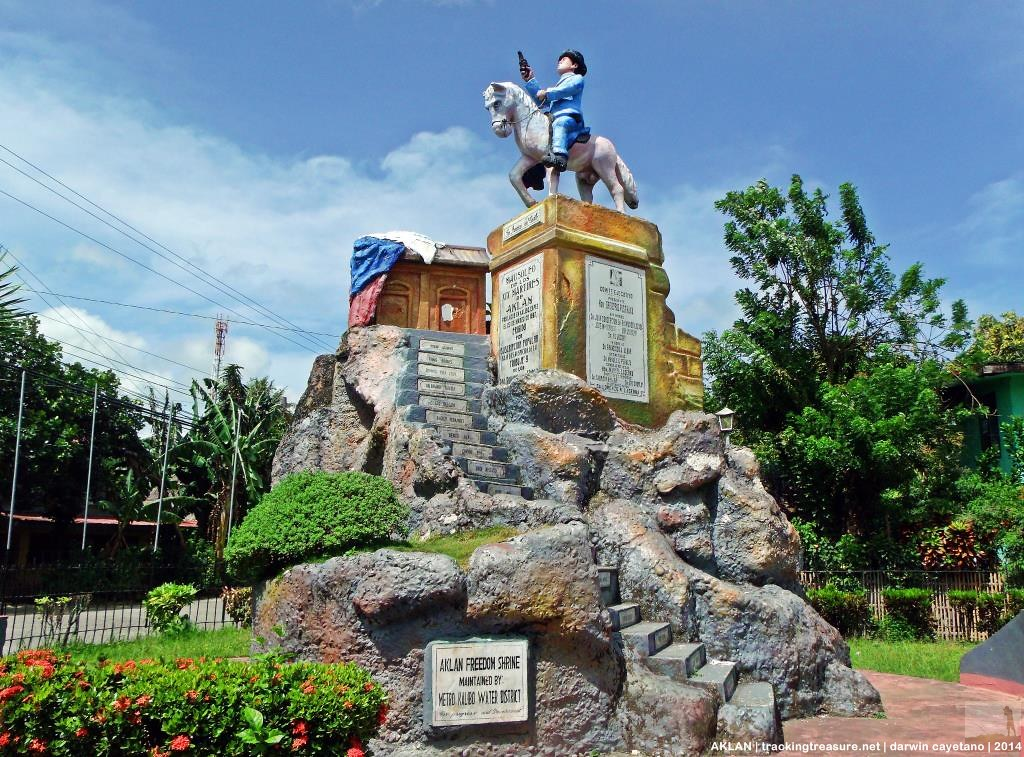 freedom shrine Aklan freedom shrine – it is dedicated to the 19 martyrs of aklan who  initiated the revolt against spain hence, the street where the shrine.