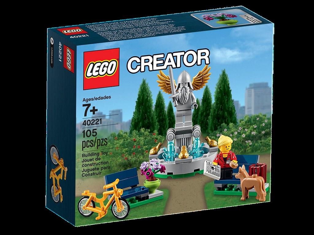 lego creator 40221 fountain plus d 39 infos sur flickr. Black Bedroom Furniture Sets. Home Design Ideas