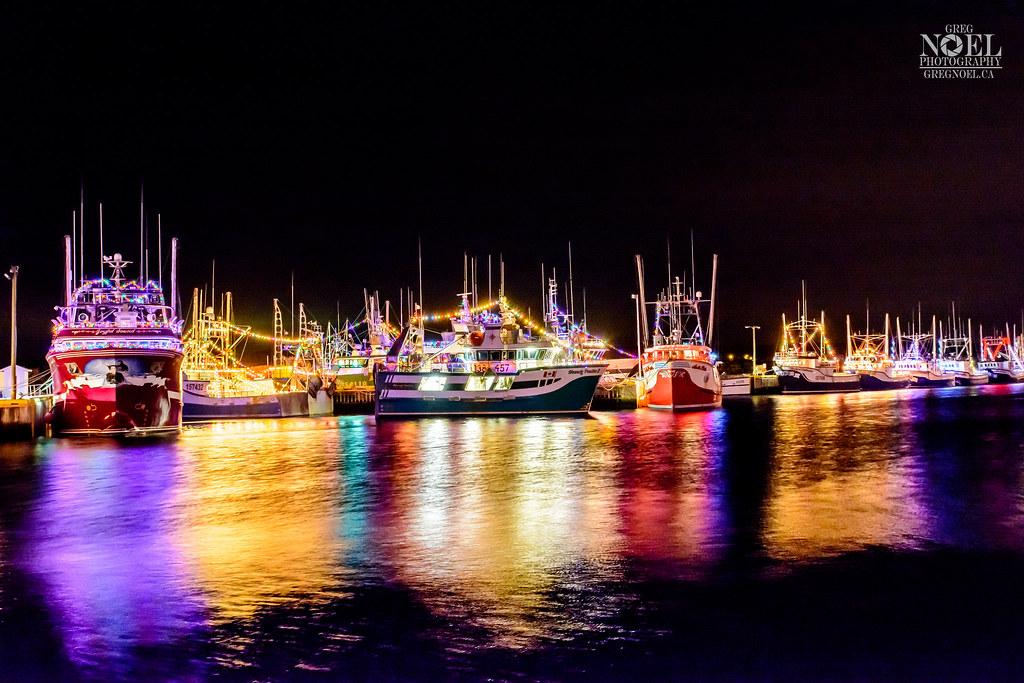 Port de Grave Christmas Boats   Port de Grave is a scenic fi…   Flickr