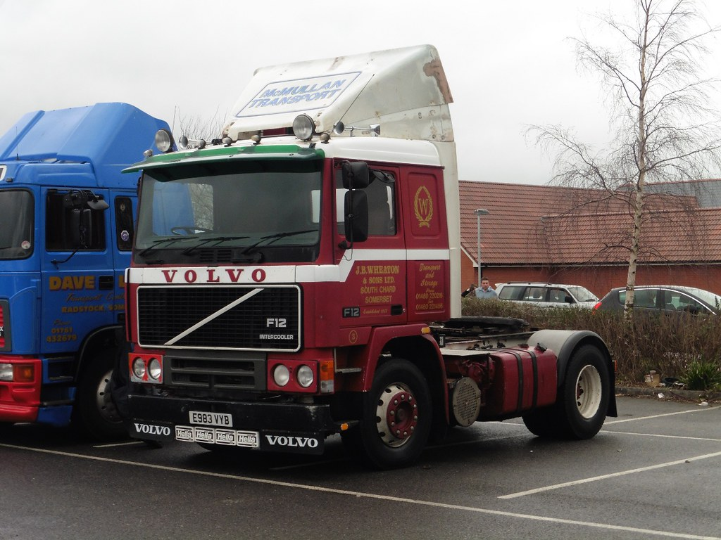 Volvo F12 E983VYB | JB Wheaton & Son, Chard Junction are ...