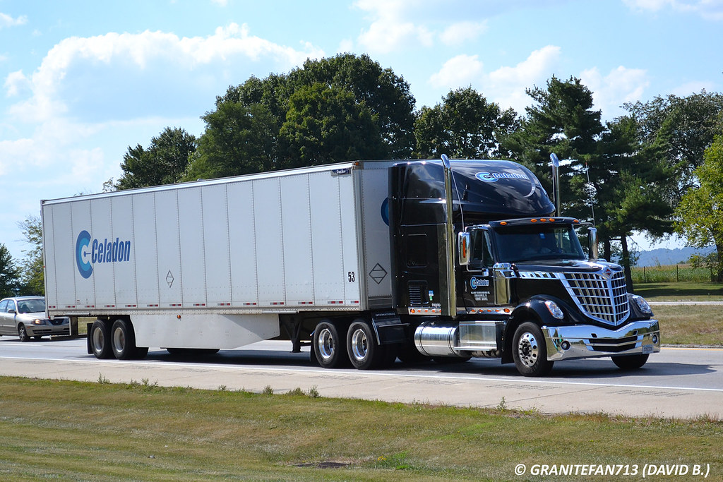 Celadon International LoneStar | Trucks, Buses, & Trains by granitefan713 | Flickr