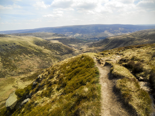 Looking back at Crowden and Bleaklow