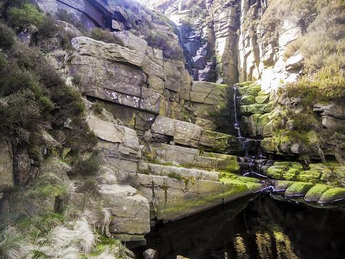 Wildboar Clough waterfall