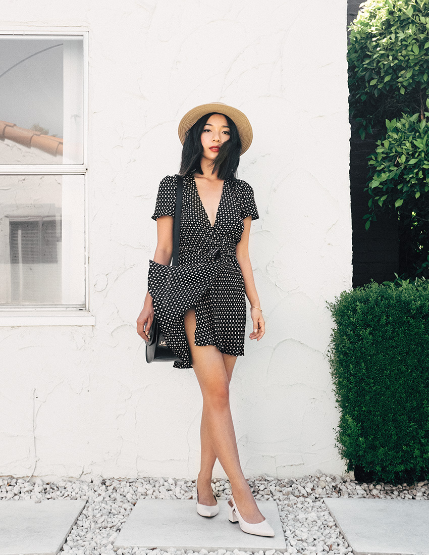 Polka Dot Dress by Reformation | HONEY & SILK