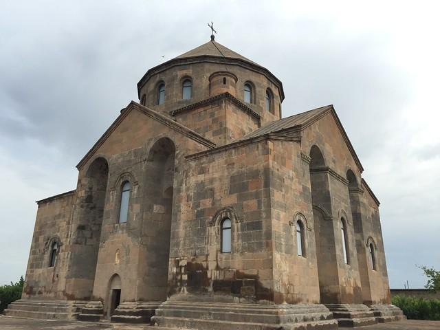 Iglesia de Santa Hripsimé en Echmiadzín (Armenia)