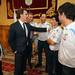 Recepción del Presidente de la Xunta al Equipo Movistar