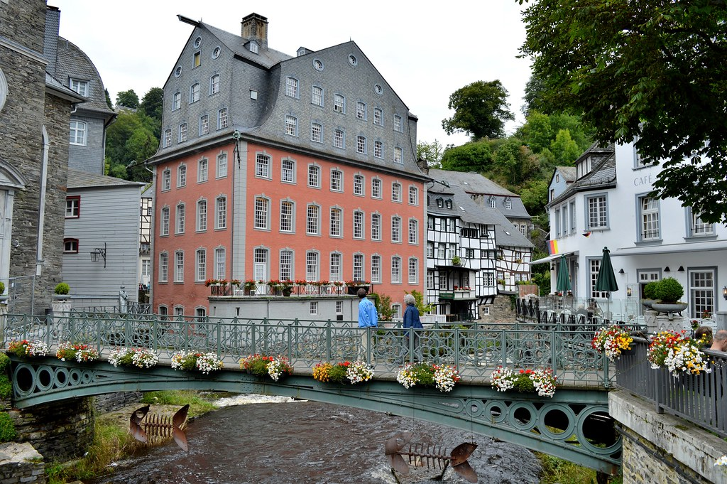 Monschau village in Germany.