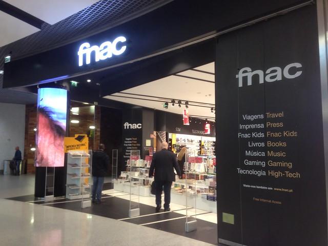 Fnac Aéroport Lisbonne