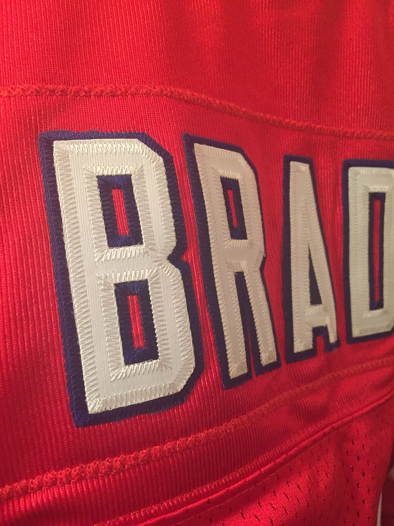 factory price d6f0b d6aaf clearance red tom brady throwback jersey 99947 93457