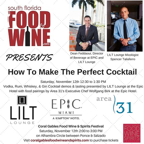 South Florida Food and Wine How to make the perfect cocktail
