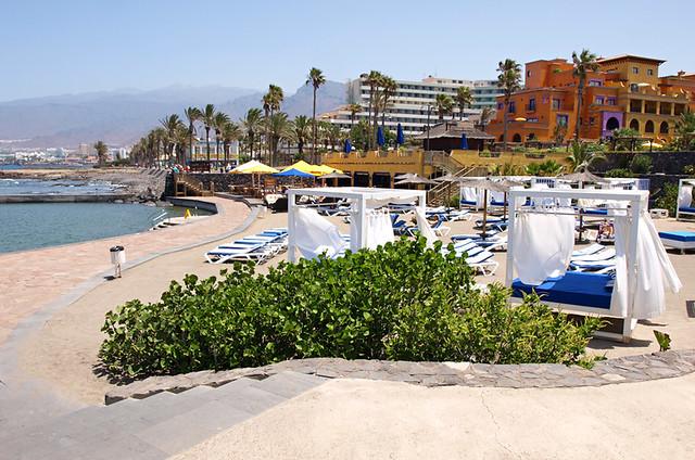 Promenade, Playa de las Americas, Tenerife